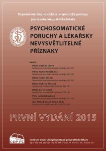 Doporučené diagnostické a terapeutické postupy pro všeobecné praktické lékaře