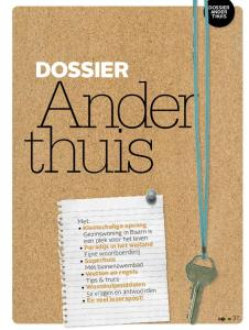 DOSSIER ANDER THUIS DOSSIER