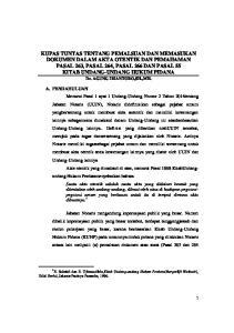 Dr. AGUNG IRIANTORO,SH.,MH. Edisi Revisi, Jakarta:Pradnya Paramita, 1996