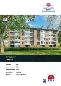 DR POELSPAD 31 EINDHOVEN. Bouwjaar: Inhoud woning: 150 m³. Woonoppervlakte: 52 m²