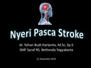 dr. Yohan Budi Hartanto, M.Sc, Sp.S SMF Saraf RS. Bethesda Yogyakarta
