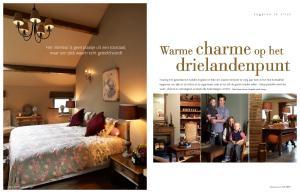 Charme Donkere Interieurs : Drielandenpunt warme charme op het het interieur is geen plaatje