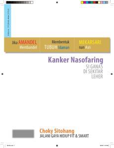Edisi 35 Feb-Mar Mekarsari. Membentuk. Tubuh Idaman. Membandel. Kanker Nasofaring. di Sekitar. Choky Sitohang. Jalani gaya Hidup Fit & Smart