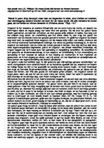 Een preek van J.C. Philpot: De vreze Gods die harten en zinnen bewaart uitgesproken in Stamford op 25 mei 1862, overgenomen van
