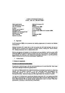 EERSTE OPENBAAR VERSLAG EX ART. 73A FAILLISSEMENTSWET. Datum uitspraak : 26 september 2008 : mr E. Doornhein