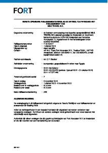 EERSTE OPENBARE FAILLISSEMENTSVERSLAG EX ARTIKEL 73A FW INZAKE HET FAILLISSEMENT VAN NILE TRAVEL B.V