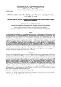 Efektifitas Modifikasi Ovitrap Model Kepanjen untuk Menurunkan Angka Kepadatan Larva Aedes aegypti di Malang