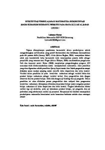 EFEKTIFITAS PEMBELAJARAN MATEMATIKA BERORIENTASI SOCIO HUMANISM BERBANTU WEBSITE PADA MATA KULIAH ALJABAR LINIER I