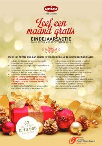 EINDEJAARSACTIE Meer dan euro aan prijzen te winnen bij de 62 deelnemende handelaars VAN 6 TOT EN MET 31 DECEMBER 2014 DEELNEMERS