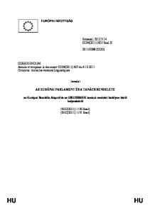 EK tanácsi rendelet hatályon kívül helyezéséről