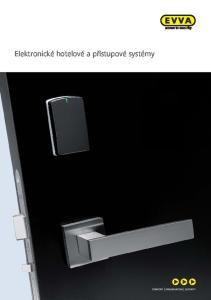 Elektronické hotelové a přístupové systémy