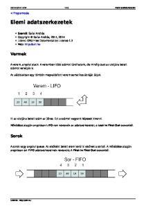 Elemi adatszerkezetek - PDF Free Download b2e4c0df73