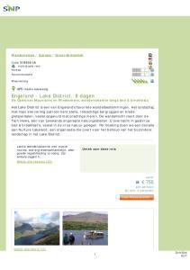 Engeland - Lake District, 8 dagen De Cumbrian Mountains en Windermere, wandelvakantie langs bed & breakfasts
