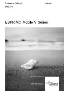 ESPRIMO Mobile V Series