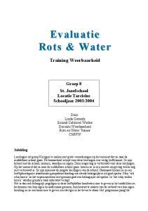 Evaluatie Rots & Water