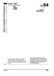 Examen HAVO. tekenen, handenarbeid, textiele werkvormen
