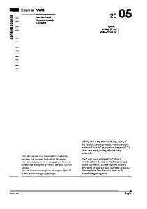Examen VWO. aardrijkskunde