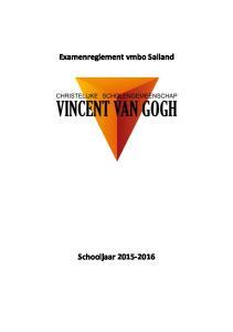 Examenreglement vmbo Salland
