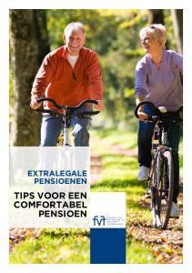 Extralegale pensioenen. tips voor een comfortabel pensioen