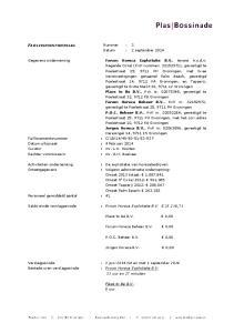 FAILLISSEMENTSVERSLAG Nummer : 3 Datum : 2 september 2014