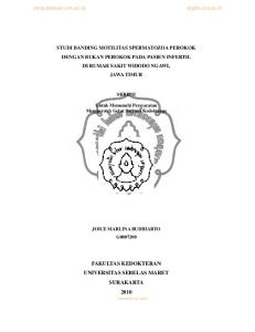FAKULTAS KEDOKTERAN UNIVERSITAS SEBELAS MARET SURAKARTA 2010 commit to user