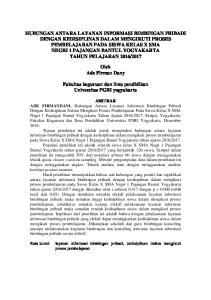 Fakultas keguruan dan ilmu pendidikan Universitas PGRI yogyakarta