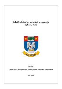 Felsőörs község gazdasági programja ( )