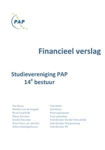 Financieel verslag
