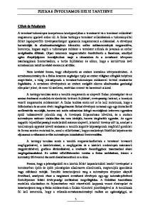 FIZIKA 6 ÉVFOLYAMOS HELYI TANTERVE