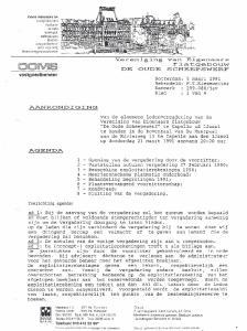 fla.tgeoo-u.vv vastgoed beheer AANKONDIGING AGENDA NVM MAKELAAR Rotterdam: Behandeld: Kenmerk Blad 5 maart 1991 F.T.Kiesewetter 299