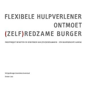 FLEXIBELE HULPVERLENER ONTMOET (ZELF)REDZAME BURGER