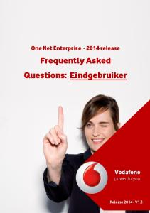 Frequently Asked Questions: Eindgebruiker