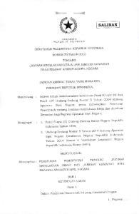 F'RESIDEH r,epublik INDONESIA PERATURAN PEMERINTAH REPUBLIK INDONESIA