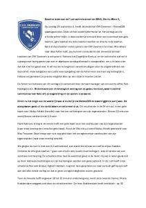Geachte leden van de Tuchtcommissie van de KNVB, District West 2,