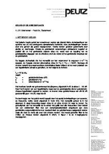 GELUID OP DE ARBEIDSPLAATS. Ir. J.H. Granneman Peutz bv, Zoetermeer 1. HET BEGRIP GELUID