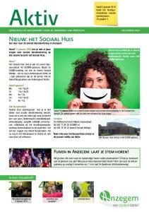 gemeentelijke nieuwsbrief voor de inwoners van Anzegem december 2015