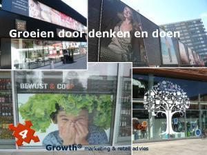 Groeien door denken en doen. Growth marketing & retail advies