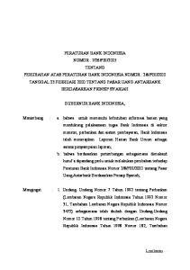 GUBERNUR BANK INDONESIA,
