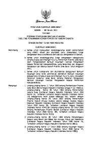 Gubernur Jawa Barat DENGAN RAHMAT TUHAN YANG MAHA ESA