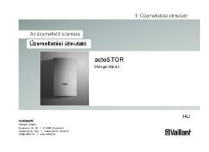 gyártó Vaillant GmbH