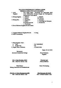 HALAMAN PENGESAHAN LAPORAN AKHIR PROGRAM KREATIVITAS MAHASISWA