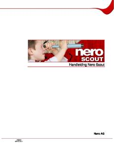 Handleiding Nero Scout