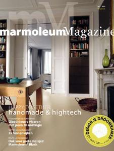 handmade &hightech HAPPY TOGETHER: Gloednieuwe vloeren met jaren 30 nostalgie 3x binnenkijken Ook voor grote meisjes: Marmoleum Blush