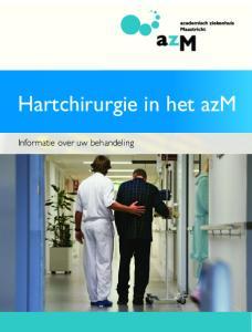 Hartchirurgie in het azm. Informatie over uw behandeling