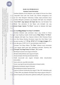 HASIL DAN PEMBAHASAN Keadaan Umum Peternakan Kelompok Tani Marga Rahayu Sri Murni (KTMRSM)