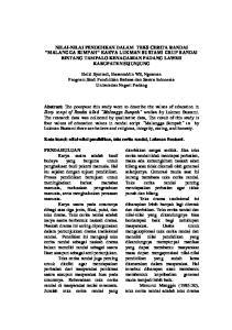 Helki Syuriadi, Hasanuddin WS, Ngusman Program Studi Pendidikan Bahasa dan Sastra Indonesia Universitas Negeri Padang