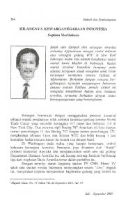 HILANGNY A KEWARGANEGARAAN INDONESIA