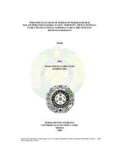 HK L A H PA S C A S A R J A N A SEKOLAH PASCASARJANA UNIVERSITAS SUMATERA UTARA MEDAN 2008