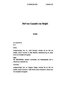 Hof van Cassatie van België