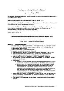 Hoofdstuk 1. Algemene bepalingen